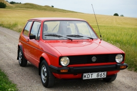 GOLF 1 S original 15.000km - 1.Hd.